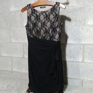 Lace Top, Ralph Lauren Cocktail dress size 10